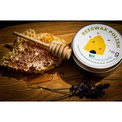 Beeswax Furniture Polish (120g tin) - Lavender