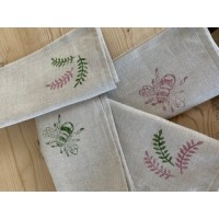 Handprinted Napkins (Pack of 4)