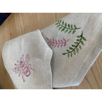 Handprinted Napkins (Pack of 2)