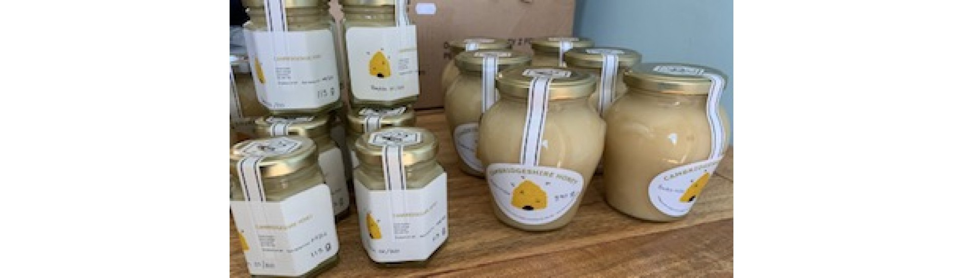 100% pure raw natural honey